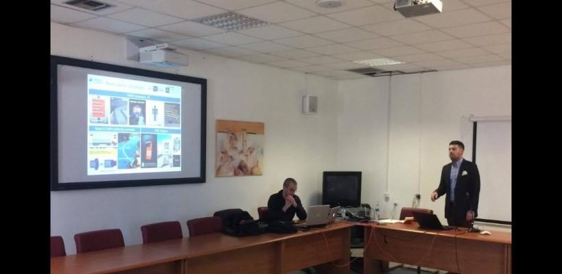 Presentation of Dr. Giannis Adamos' dissertation