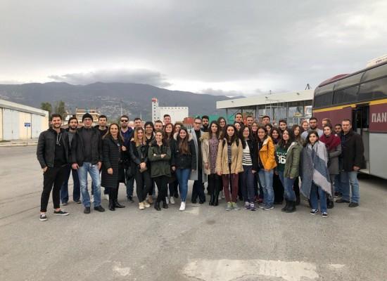Εκπαιδευτική επίσκεψη στον οργανισμό λιμένα Βόλου