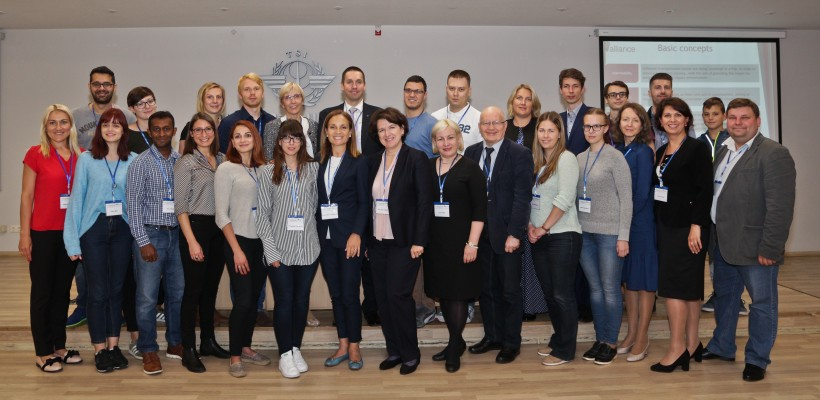 TTLog participation in the 2nd ALLIANCE Summer School in Riga, Latvia