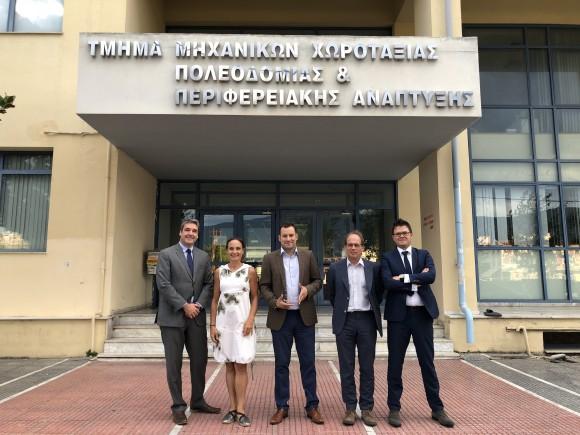 Presentation of Dr. Konstantinos Papoutsis' dissertation