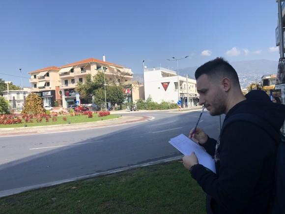 Τraffic measurements at Volos' roundabouts